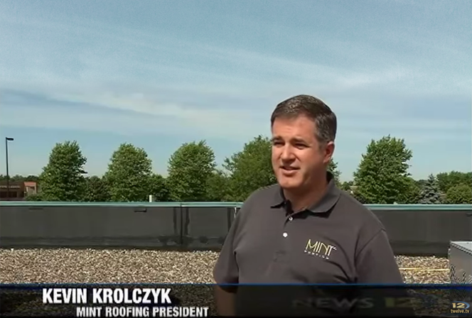 Kevin Krolczyk, President of Mint Roofing