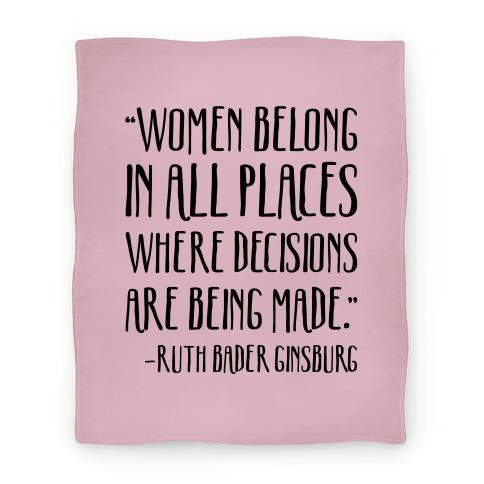 Justice Ruth Bader Ginsburg RBD Quote