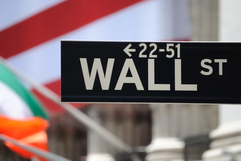 The historic Wall Street in New York York City.