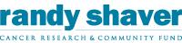 Randy Shaver Cancer Research & Community Fund Logo