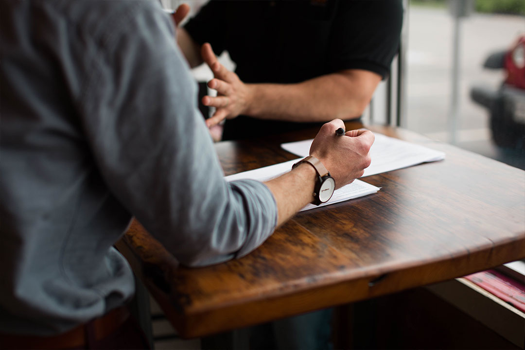 Writing on table Capital Loan