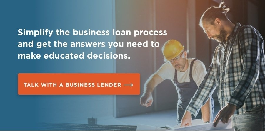 Talk with a business lender